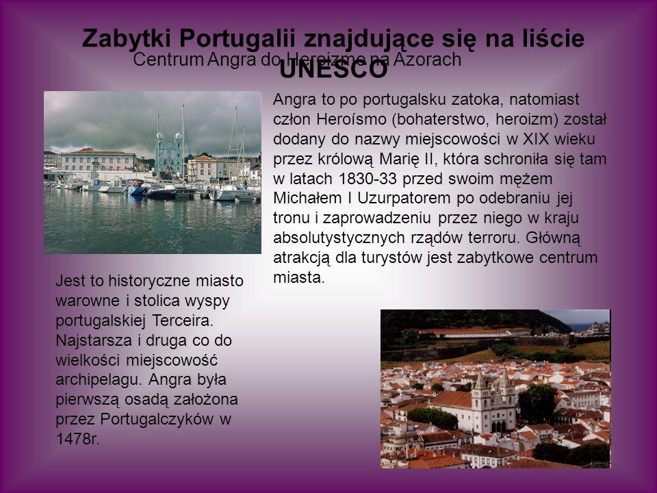 Historyczne centrum Guimarães Jest to miasto w Portugalii, leżące w dystrykcie Braga.