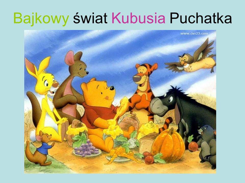 Bajkowy świat Kubusia Puchatka