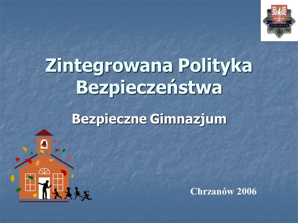 Zintegrowana Polityka Bezpieczeństwa Bezpieczne Gimnazjum Chrzanów 2006