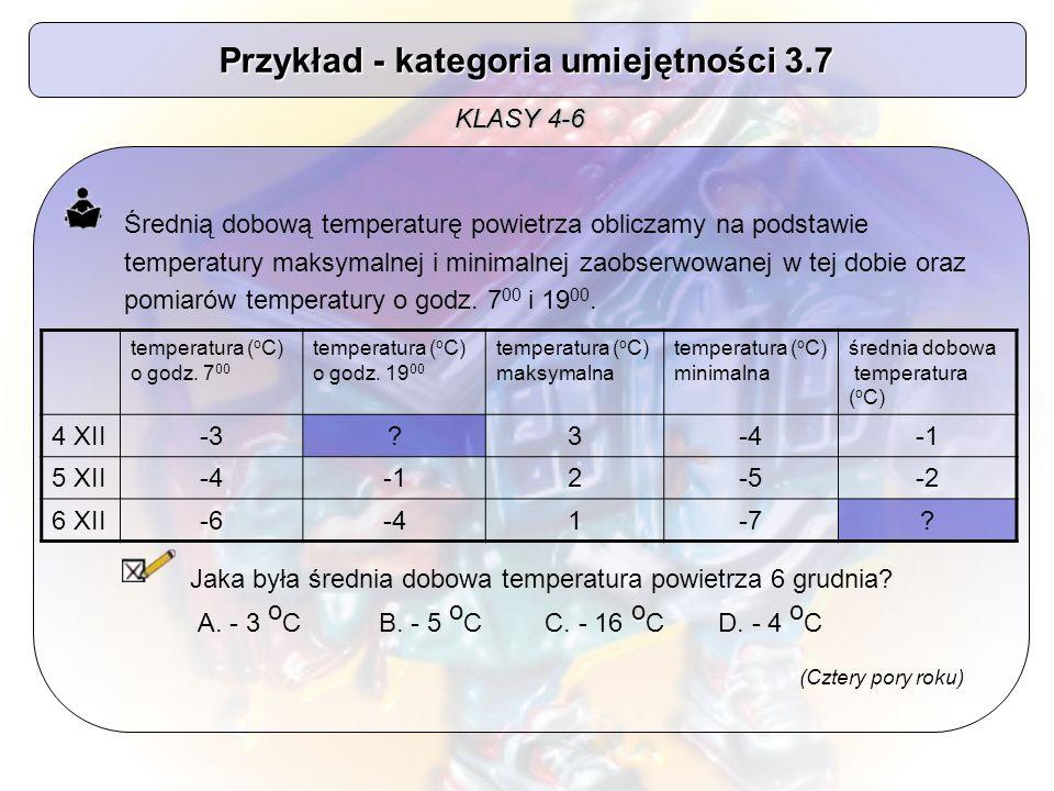 Średnią dobową temperaturę powietrza obliczamy na podstawie temperatury maksymalnej i minimalnej zaobserwowanej w tej dobie oraz pomiarów temperatury