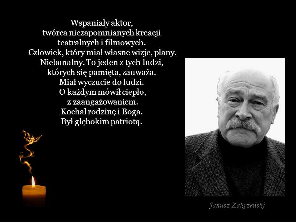 Wybitna postać polskiego sportu, człowiek niesamowicie pracowity, oddany sprawie. Był wspaniałym kompanem, towarzyskim dyplomatą i co najważniejsze, n