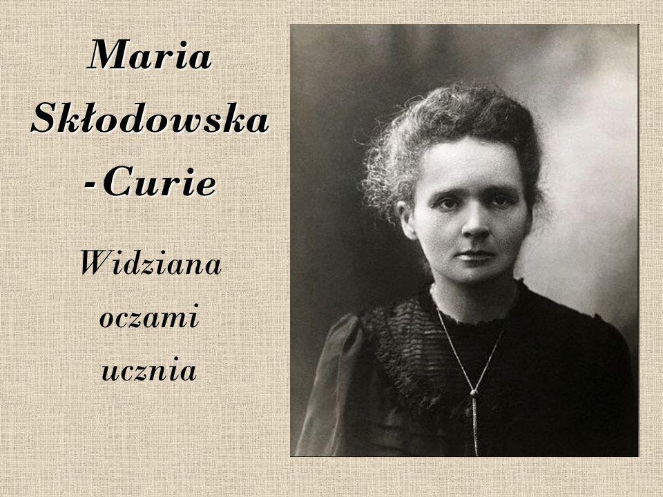 W 1911 r.Maria Skłodowska-Curie otrzymała po raz drugi Nagrodę Nobla.