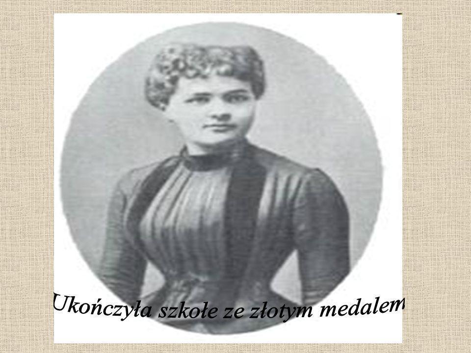 W 1891 roku wyjechała do Paryża i zaczęła studiować na Sorbonie fizykę i chemię.