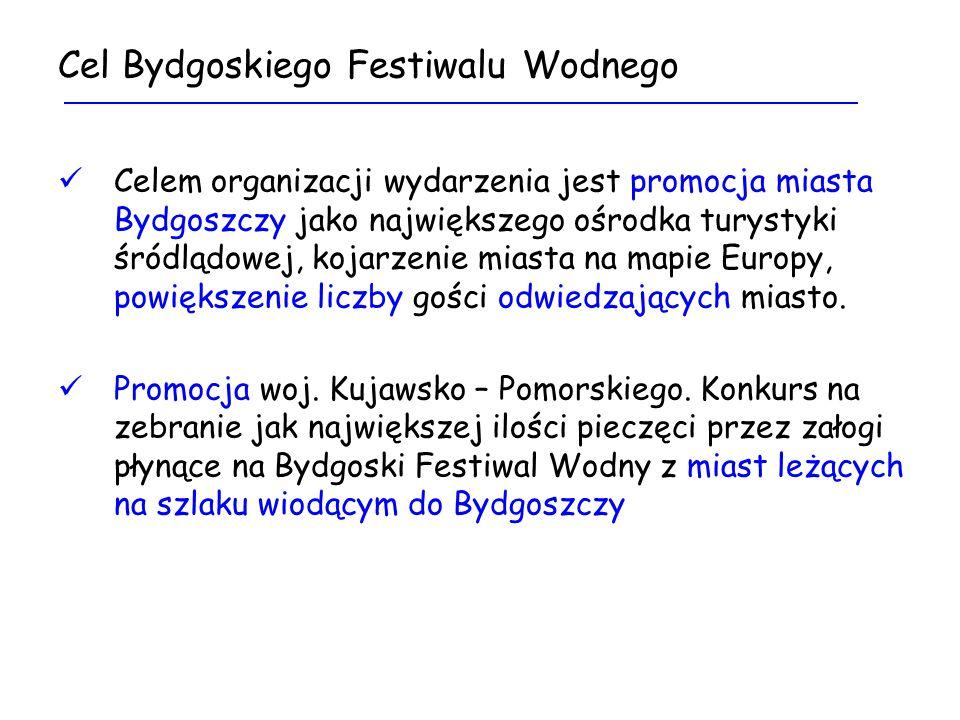 Ster na Bydgoszcz Bydgoski Festiwal Wodny 30.05 - 01.06.2008 KONTAKT: wpm@um.bydgoszcz.pl 052 58 58 446
