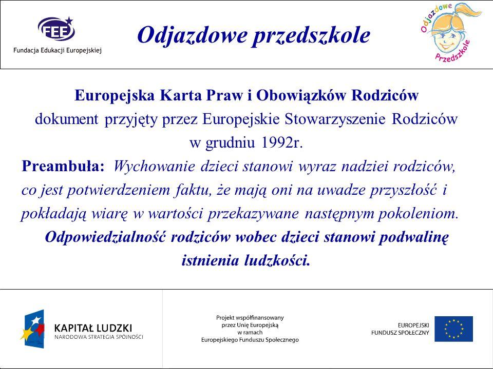 Rok przedszkolaka Finansowanie przedszkola – jest zadaniem własnym gminy.