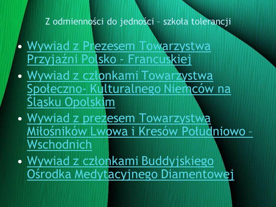 Wywiad z Prezesem Towarzystwa Przyjaźni Polsko – Francuskiej panem Marianem Martiszko - Kiedy państwa stowarzyszenie zostało założone.