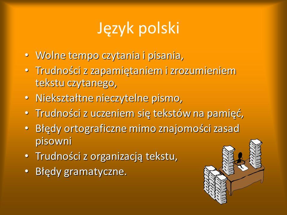 Objawy dysleksji w wieku szkolnym. Przykłady trudności na poszczególnych przedmiotach