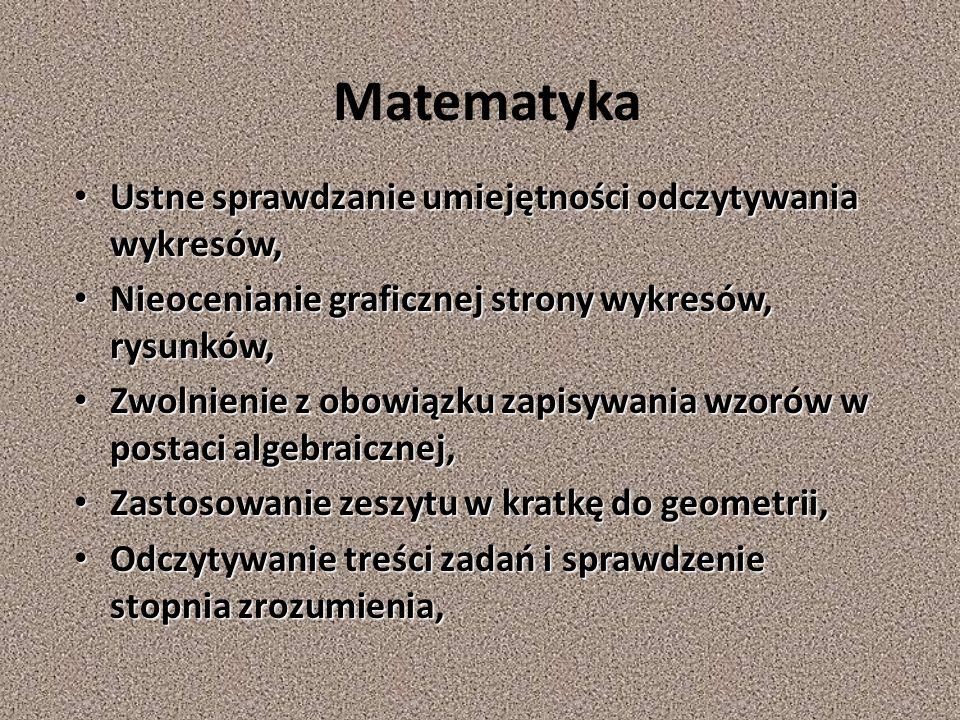 Język polski Zezwolenie na pisanie drukowanymi literami, a prac pisemnych domowych na komputerze, Zezwolenie na pisanie drukowanymi literami, a prac p