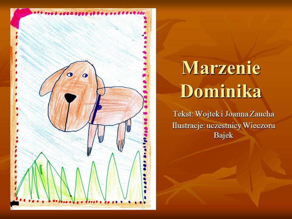 Marzenie Dominika Tekst: Wojtek i Joanna Zaucha Ilustracje: uczestnicy Wieczoru Bajek