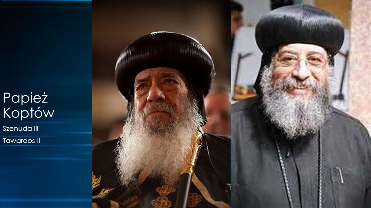 Szenuda III Tawardos II Papież Koptów