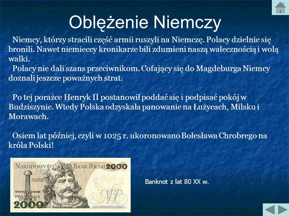 Oblężenie Niemczy Ten rok jest szczególnie trudny dla Polski. Henryk II rozłościł się na naszego króla. Złość była wywołana odmową na wsparcie w wojni