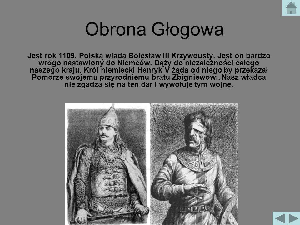 Obrona Głogowa 1109 rok