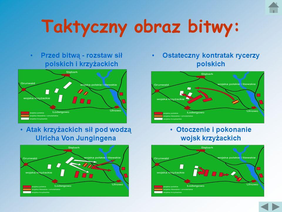 Jedna z największych bitew w historii Polski Bitwa rozpoczęła się w 15 lipca 1410 r. Licząca 20 tys. wojska Armia Polska, z pomocą 10 tys. rycerzy lit