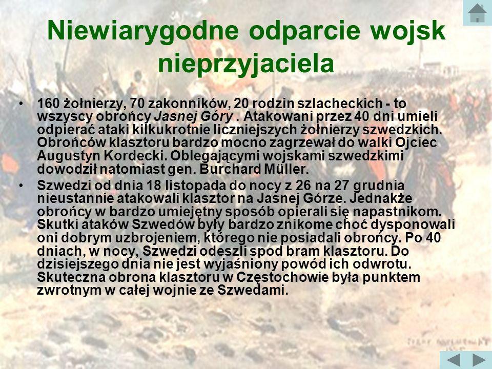 Obrona Jasnej Góry 18 listopada 1655 r.