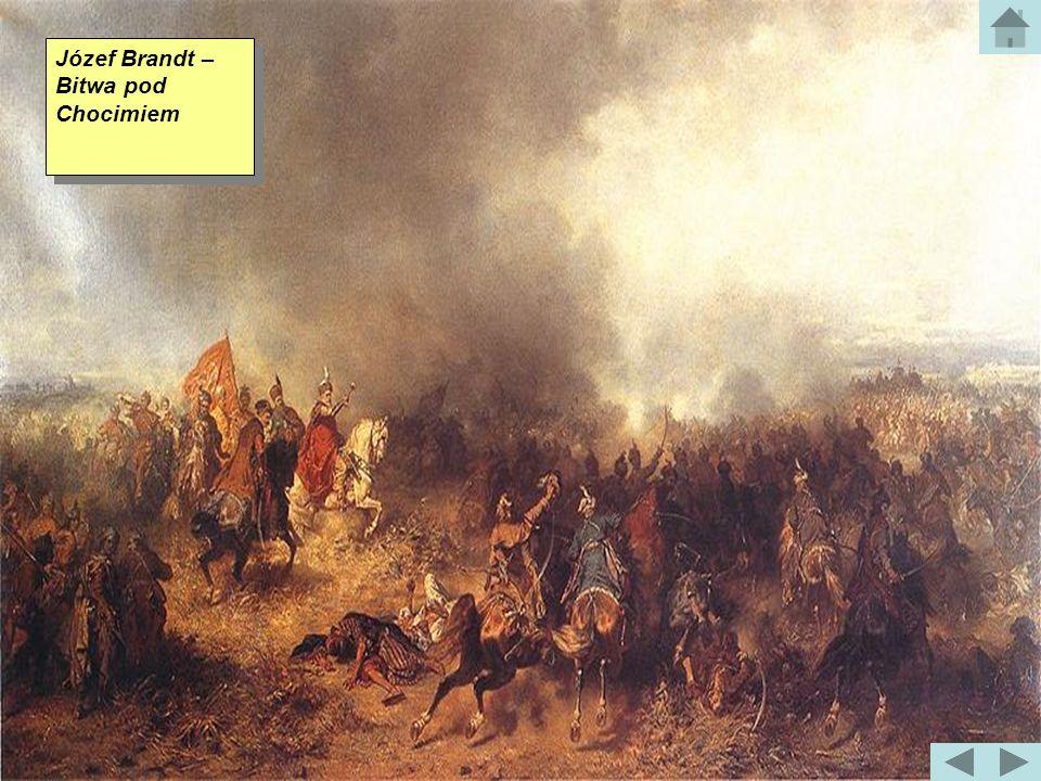 Bitwa pod Chocimiem Bitwa pod Chocimiem miała miejsce 11 listopada 1673 roku. Wojska koronne oraz litewskie pod dowództwem Hetmana Wielkiego koronnego