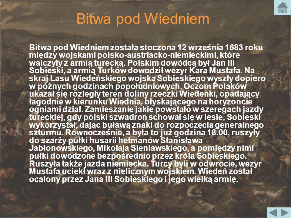 Bitwa pod Wiedniem 12 września 1683 r.