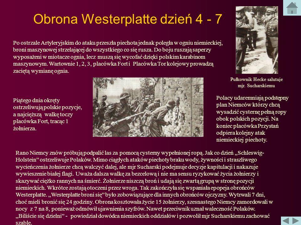 Obrona Westerplatte dzień 2 i 3 Przed świtem wyruszają niemieckie patrole. Po ich powrocie rozpoczynają się przygotowania do ostrzału wartowni nr 1 i