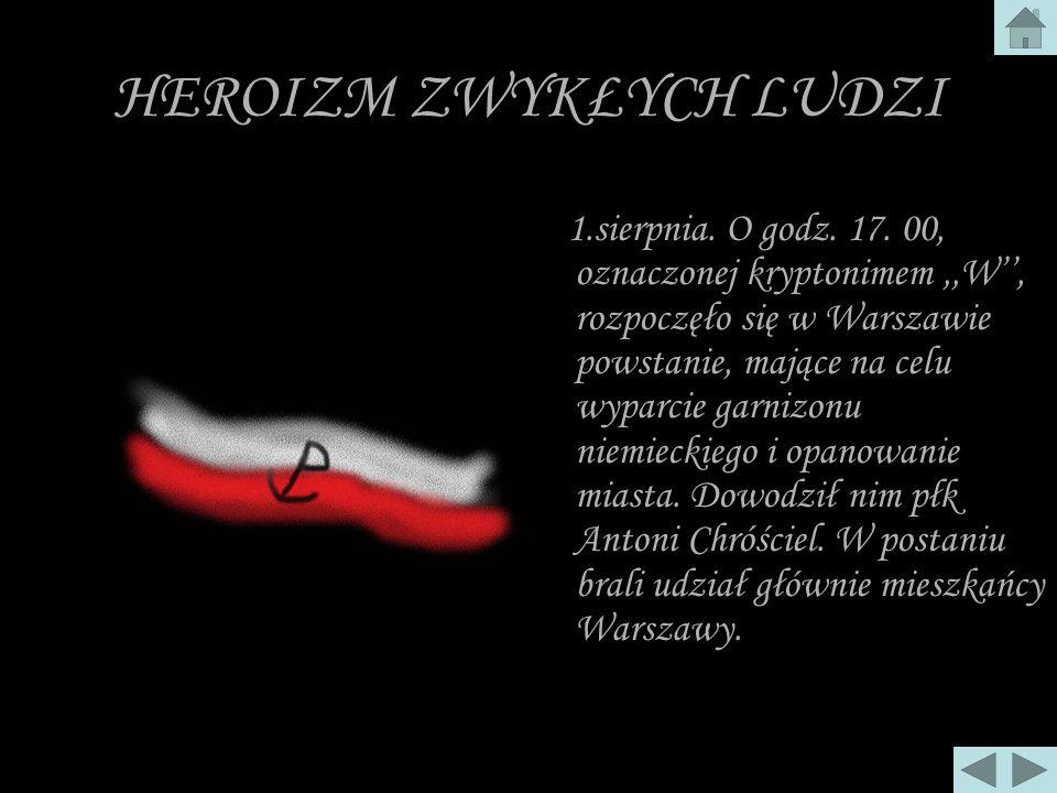 POWSTANIE WARSZAWSKIE 1944 ROK
