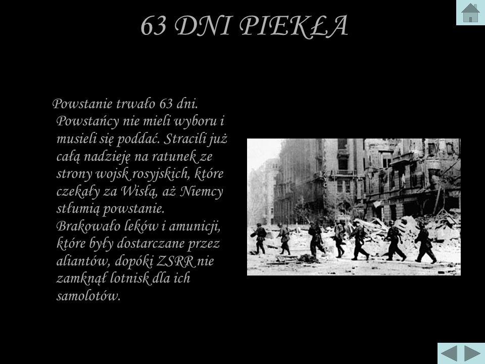 HEROIZM ZWYKŁYCH LUDZI 1.sierpnia. O godz. 17. 00, oznaczonej kryptonimem,,W, rozpoczęło się w Warszawie powstanie, mające na celu wyparcie garnizonu