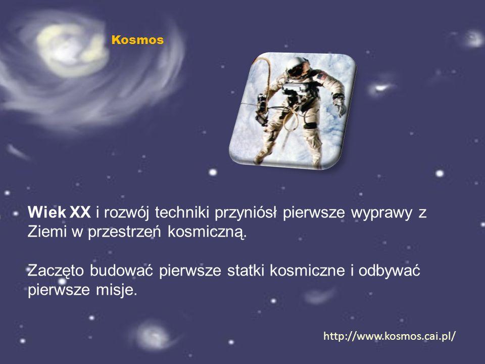 Pierwszym astronautą był Jurij Gagarin, który w 1961 roku odbył pierwszy lot w przestrzeń kosmiczną statkiem Wostok.