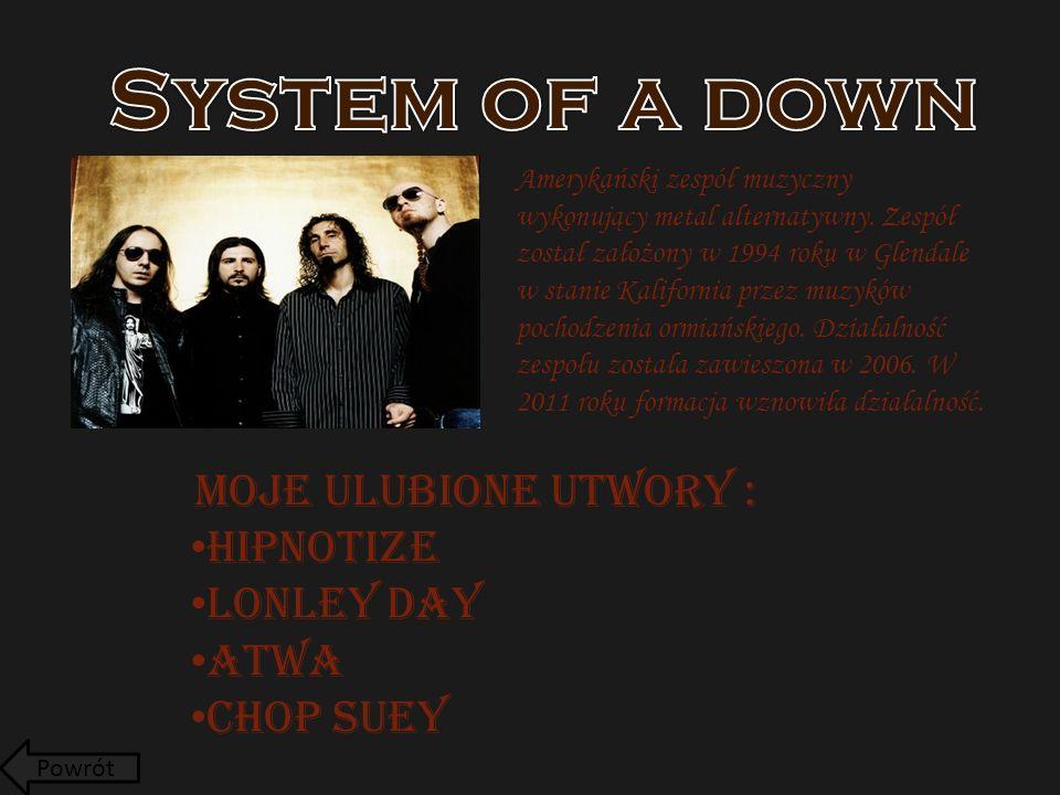 Amerykański zespół muzyczny wykonujący metal alternatywny.