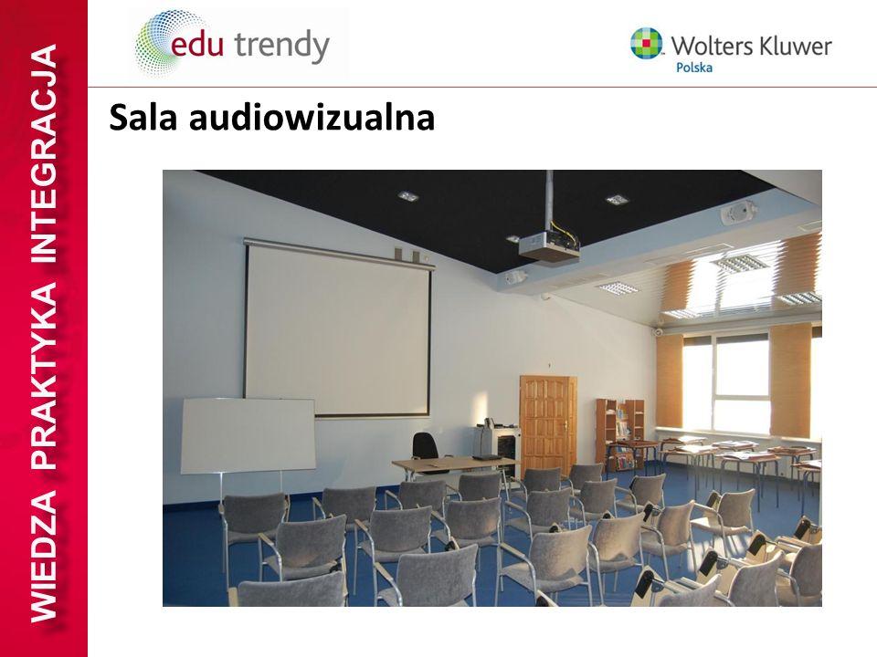 WIEDZA PRAKTYKA INTEGRACJA Sala audiowizualna