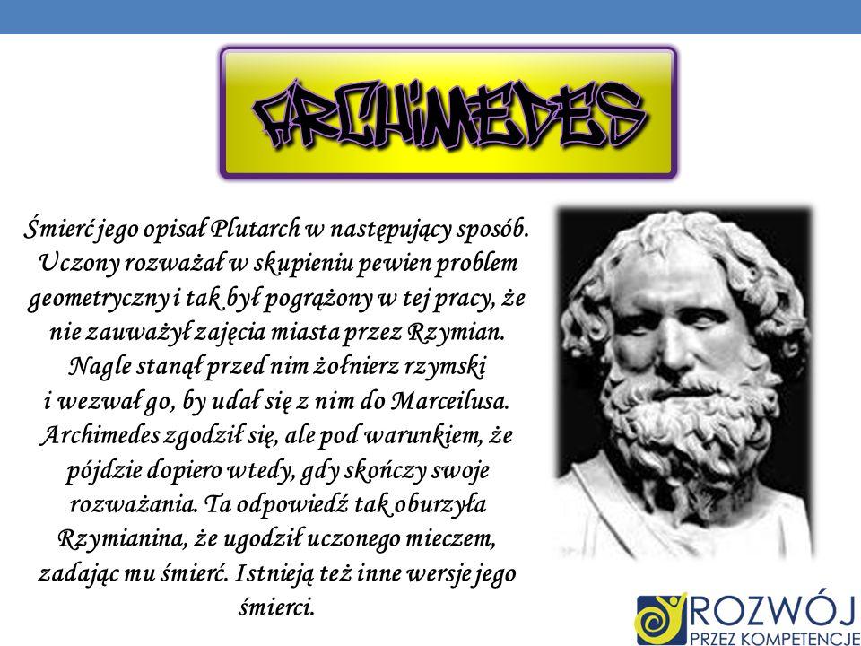 Śmierć jego opisał Plutarch w następujący sposób.