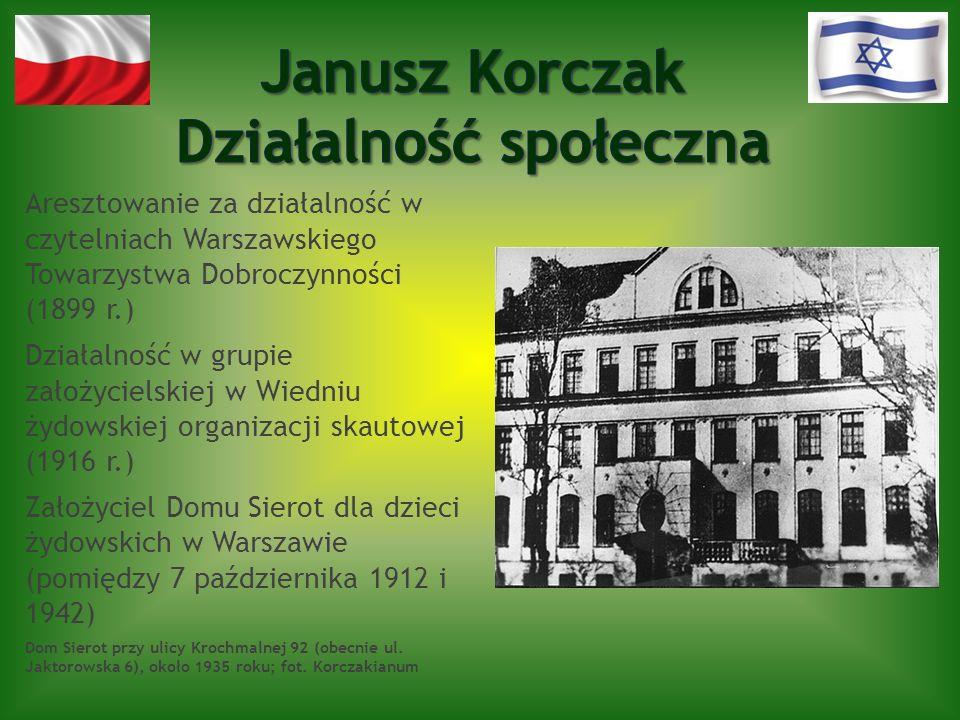 Aresztowanie za działalność w czytelniach Warszawskiego Towarzystwa Dobroczynności (1899 r.) Działalność w grupie założycielskiej w Wiedniu żydowskiej