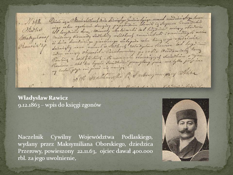 Metryka zbiorcza zgonu 28 nieznanych powstańców, księga parafialna w miejsc. Góry Wysokie