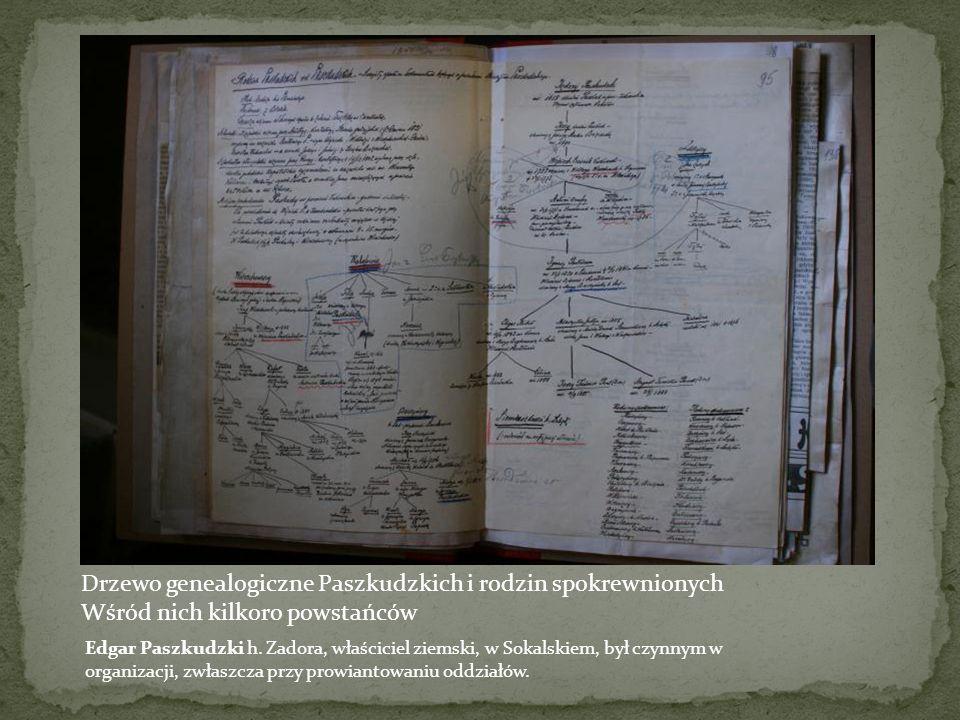Drzewo genealogiczne Nanowskich Archiwum Lwowskie - bernardyńskie Władysław Nanowski Zmarł 1889, uczestnik konspiracji, syn Adama i Laury, córki adwok