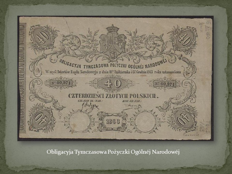 Statut Organizacji Narodowej Powstania Styczniowego z 16 VI 1862 r.