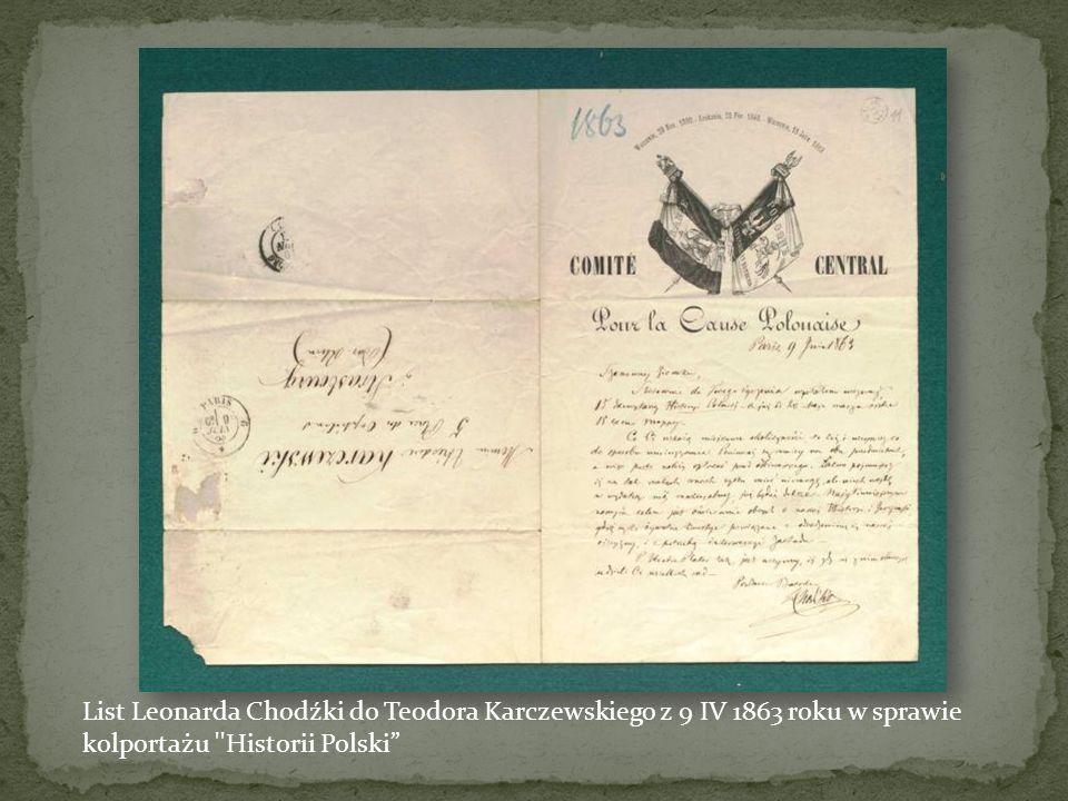Kwit z pieczęcią powstańczą i podpisem gen. Mariana Langiewicza z 23 I 1863 roku