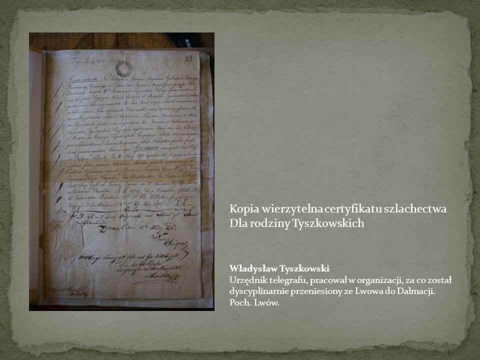 W X Pawilonie na wygnaniu Rękopis jednego z pamiętników Powstańczych zachowanych W Archiwum Lwowskim