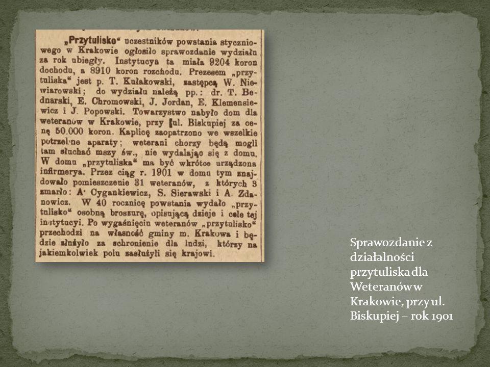 Pocztówka przedstawiająca proces ks. Brzóski Ostatniego walczącego powstańca. Powieszony w maju 1865