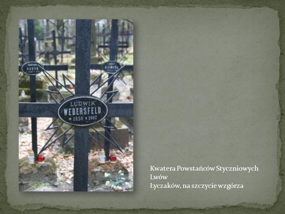 Nagrobek powstańca - Kraków – cm. Rakowicki Na cmentarzu Rakowickim znajduje się kilkudziesięciu znanych grobów powstańców. Na innych cmentarzach krak