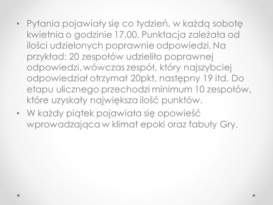 Prolog Środa, 19 maja 1937.Godzina 12.30 Gostyń. Posterunek policji przy ulicy Wrocławskiej.