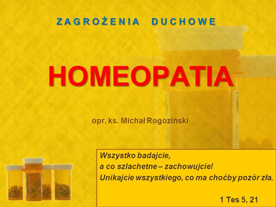 W przypadku preparatów homeopatycznych o stałej konsystencji, przygotowuje się tzw.