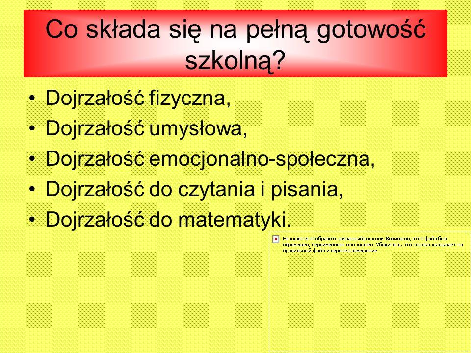 Materiały pomocne w podjęciu decyzji Na stronie internetowej Ośrodka Rozwoju Edukacji (www.ore.edu.pl) została uruchomiona zakładka Sześciolatek w szkole .