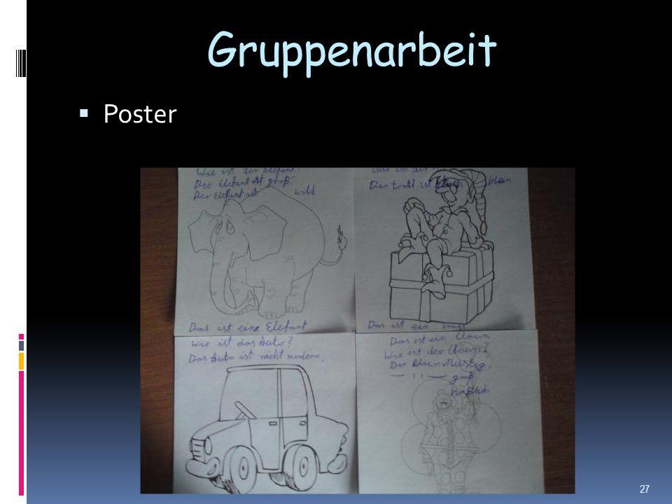 Gruppenarbeit Poster 27