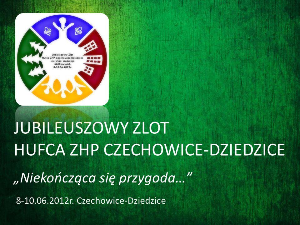 JUBILEUSZOWY ZLOT HUFCA ZHP CZECHOWICE-DZIEDZICE 8-10.06.2012r. Czechowice-Dziedzice Niekończąca się przygoda…