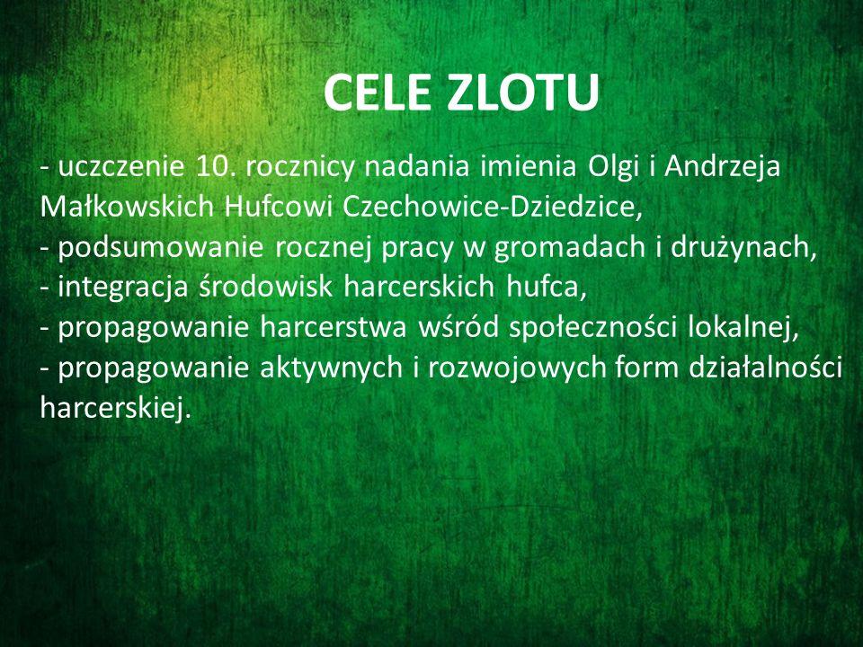 - uczczenie 10. rocznicy nadania imienia Olgi i Andrzeja Małkowskich Hufcowi Czechowice-Dziedzice, - podsumowanie rocznej pracy w gromadach i drużynac