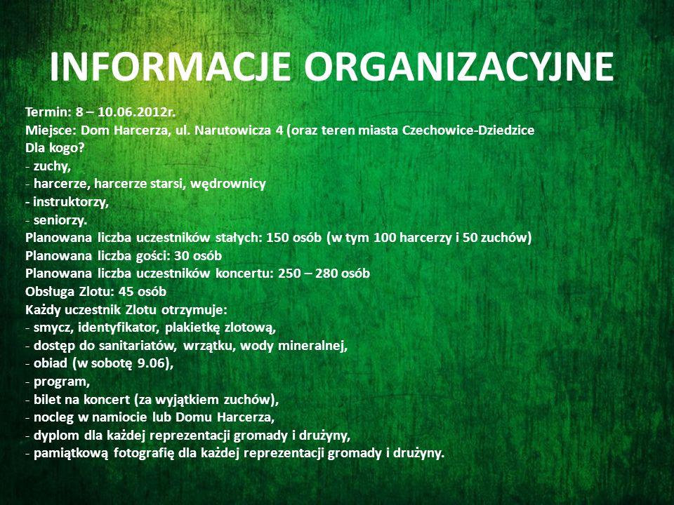 www.zlot.czechowice-dziedzice.zhp.pl Więcej informacji w serwisie zlotowym pod adresem: