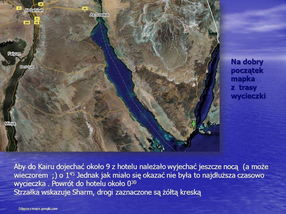 Prawdę mówiąc wcześniej nie zastanawiałem się jak od czasu gdy zbudowaliśmy tam kanał Sueski przedostają się samochody z półwyspu Synaj do części afrykańskiej Egiptu.