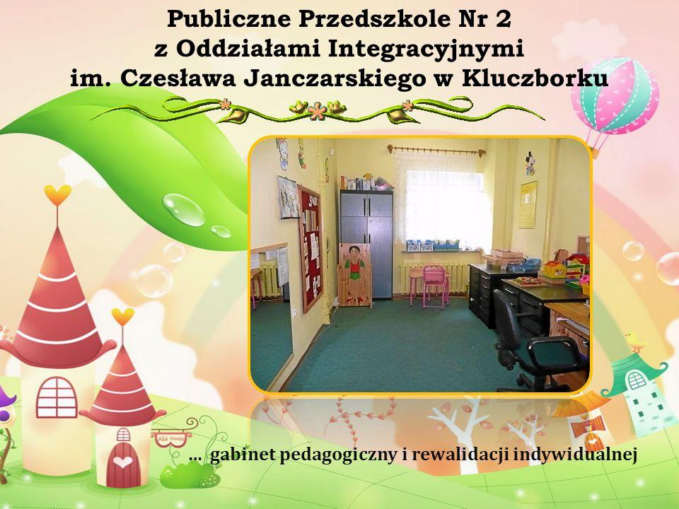 … salę gimnastyczną Publiczne Przedszkole Nr 2 z Oddziałami Integracyjnymi im.
