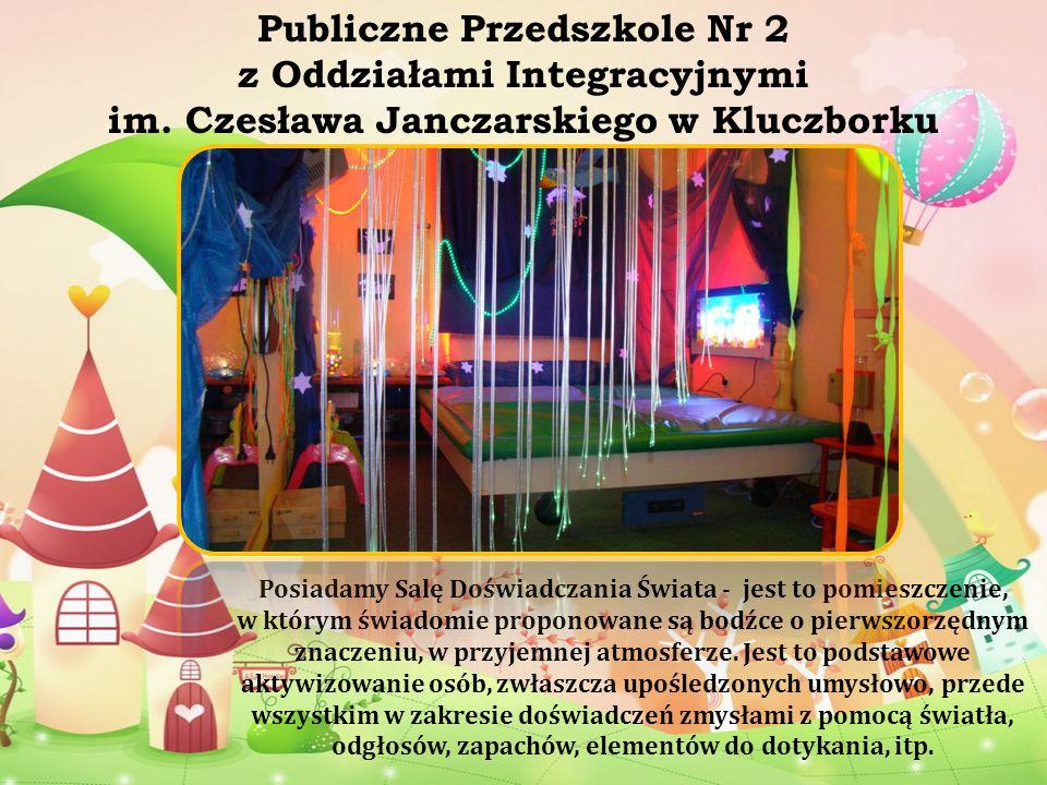 Publiczne Przedszkole Nr 2 z Oddziałami Integracyjnymi im. Czesława Janczarskiego w Kluczborku