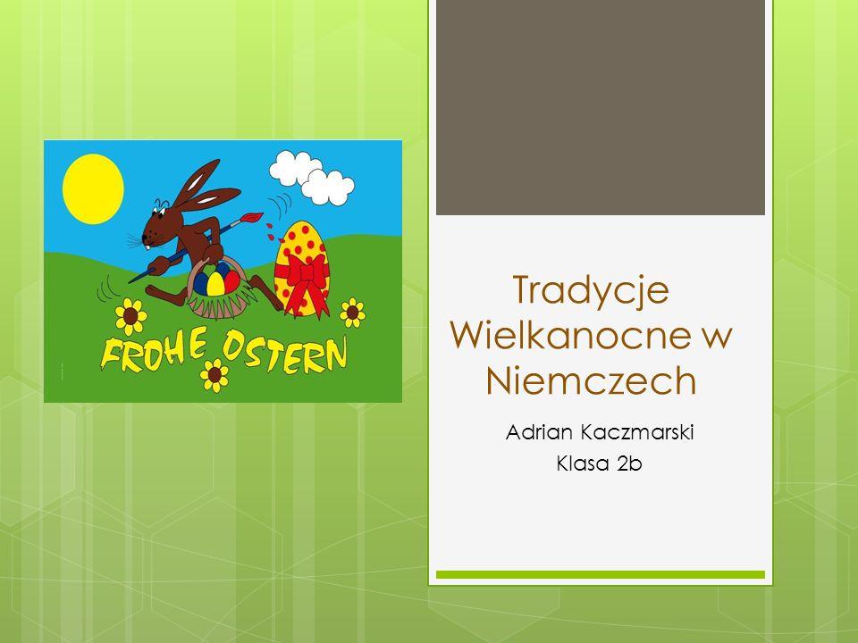 Życzenia Ich wünsche Euch/Dir frohe Ostern.