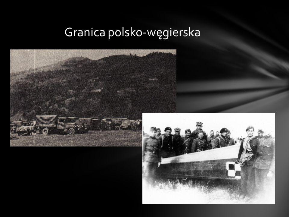 W obliczu faktów nie pozostało nic innego jak zorganizować z luźnych grup żołnierzy rozbitych jednostek konwój, który pod koniec września przekroczył granicę z Węgrami.