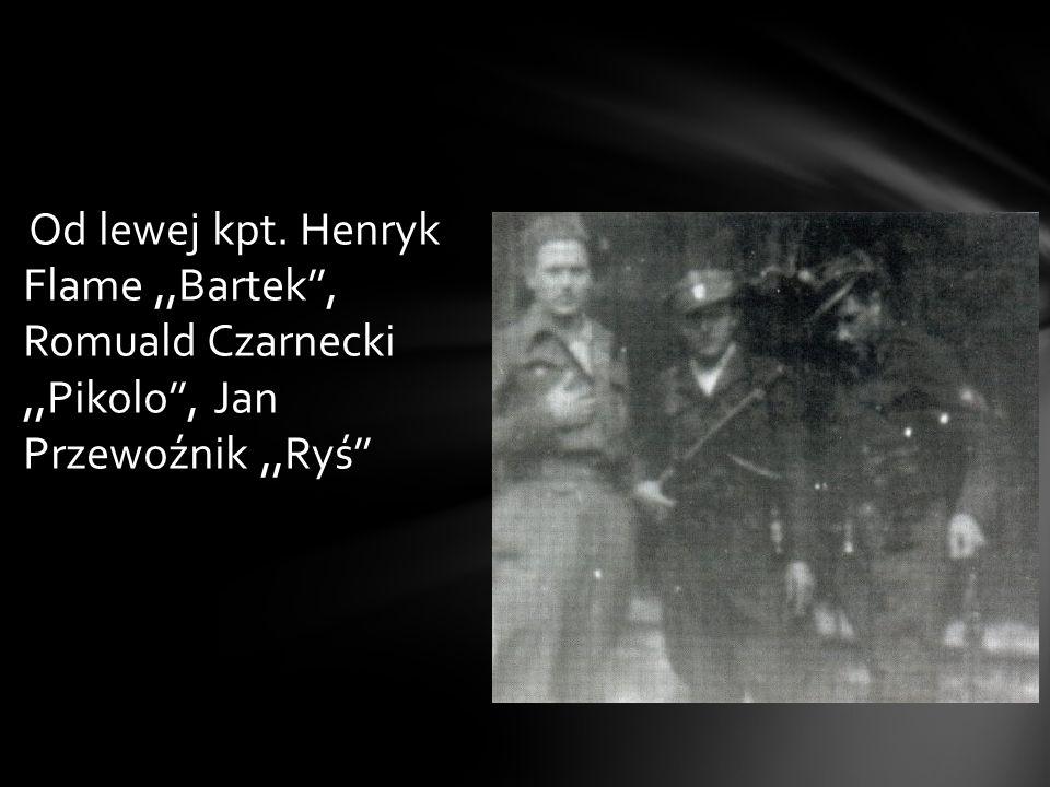 Od maja 1945 r. do lutego 1947 r. Bartek stał na czele największego zgrupowania niepodległościowego na Śląsku Cieszyńskim, którego liczebność, w szczy
