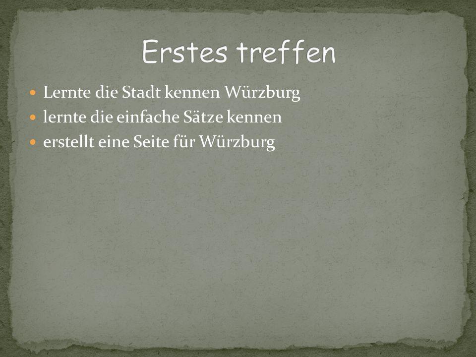 Würzburg ist eine kreisfreie Stadt in Bayern (Bezirk Unterfranken).
