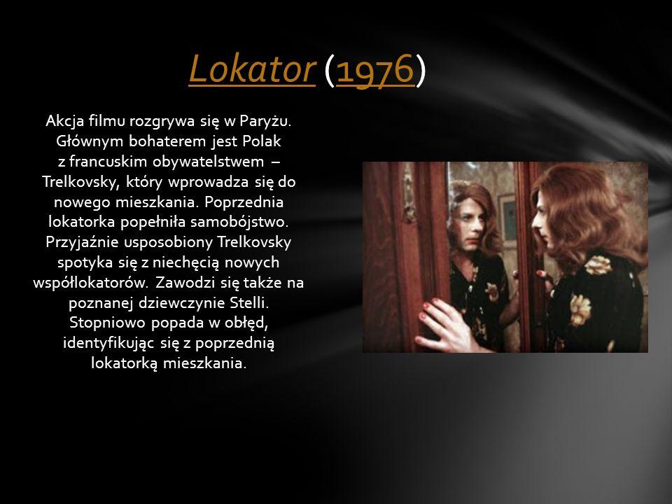 Akcja filmu rozgrywa się w Paryżu. Głównym bohaterem jest Polak z francuskim obywatelstwem – Trelkovsky, który wprowadza się do nowego mieszkania. Pop